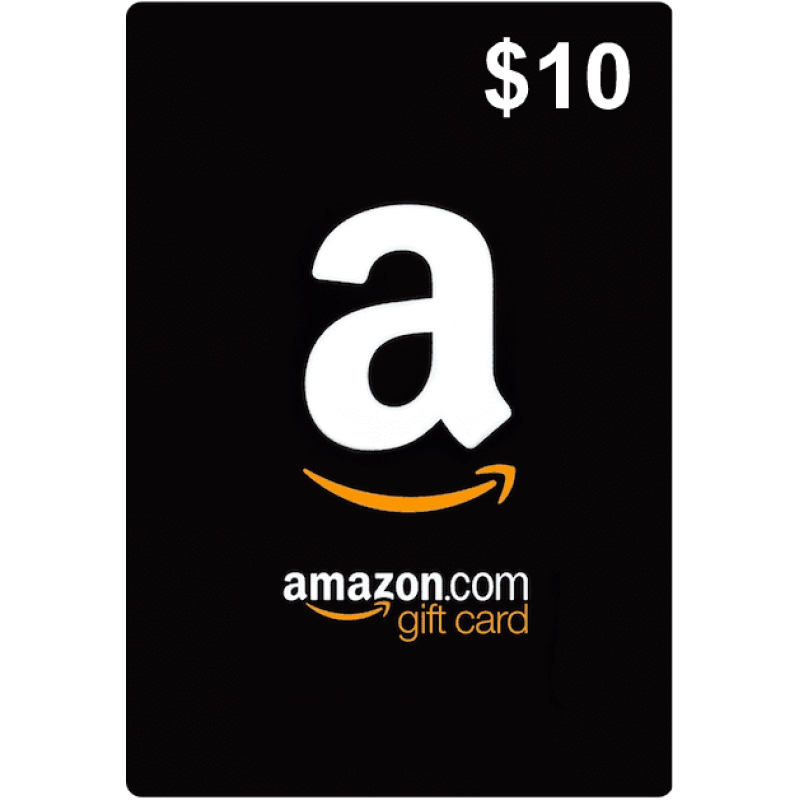 $10 Amazon Gift Card (US)