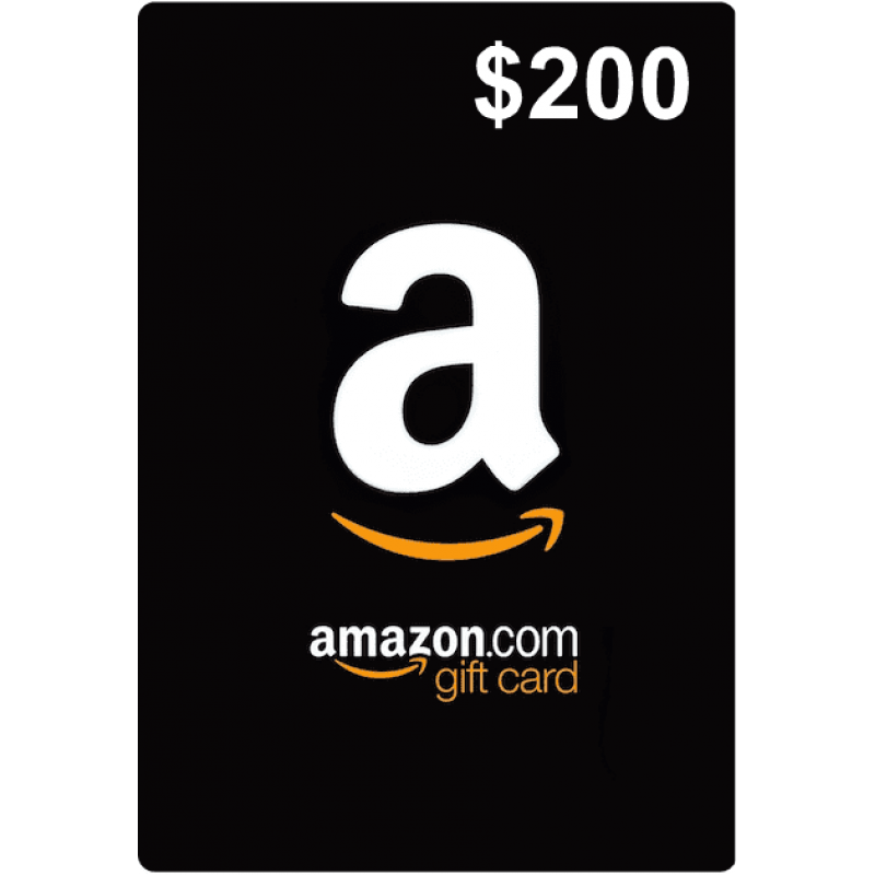 $200 Amazon Gift Cards (US)