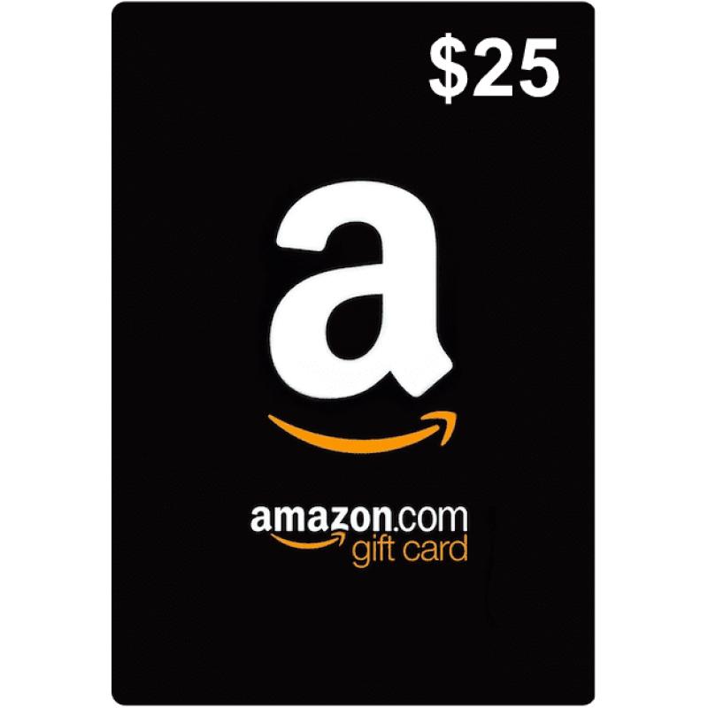 $25 Amazon Gift Card (US)