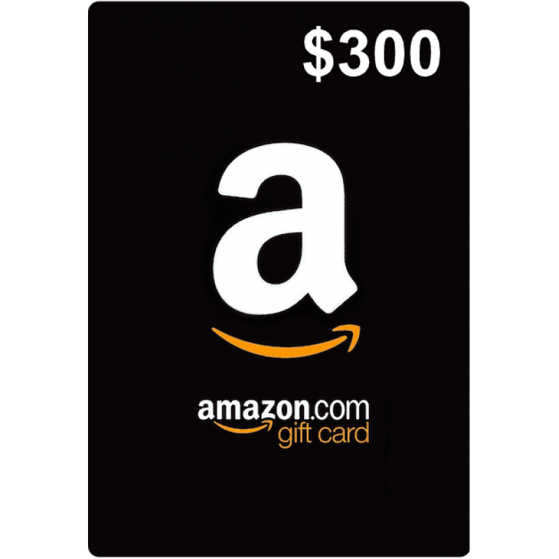 $300 Amazon Gift Cards (US)