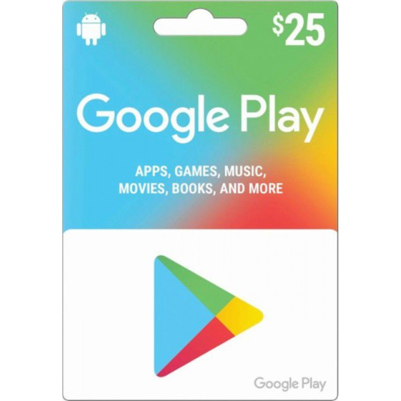 $25 Google Play Gift Card (US)