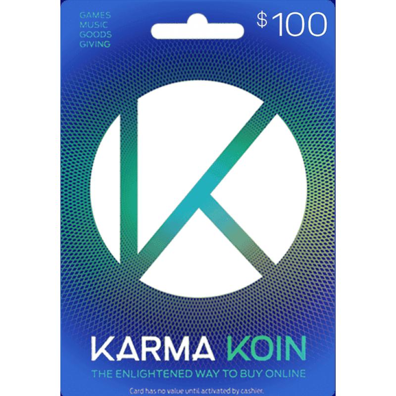 $100 Karma Koin Card