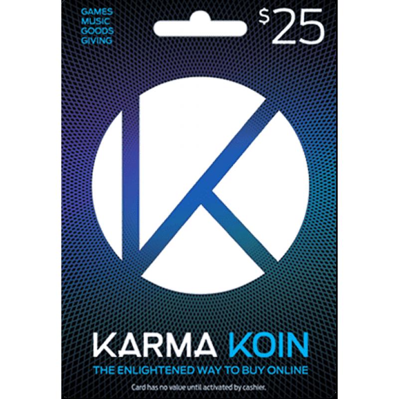 $25 Karma Koin Card