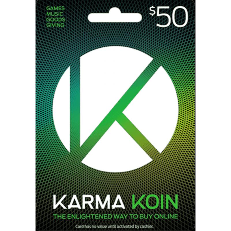 $50 Karma Koin Card