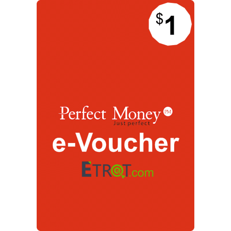 $1 Perfect Money e-Voucher