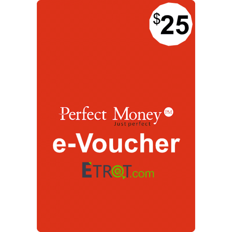 $25 Perfect Money e-Voucher