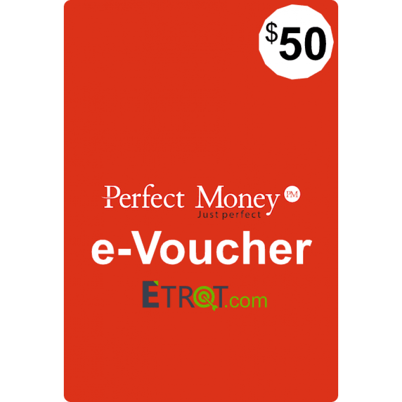 $50 Perfect Money e-Voucher
