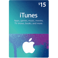 $15 Apple iTunes Gift Card (US | Scan)