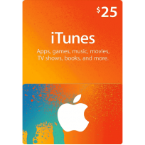 $25 Apple iTunes Gift Card (US | Scan)